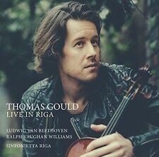 L. Beethoven / Thomas Gould / Sinfonietta Riga - Live in Riga [New CD]