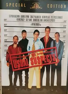 The Usual Suspects DVD - Special Edition (Region 1, 2002) Free Post