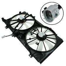 For Toyota Venza Avalon Camry Lexus Es350 Ac Dual Radiator Cooling Fan Assembly