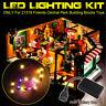 ONLY USB LED Light Lighting Kit For LEGO 21319 Friends Central Perk Bricks Toy