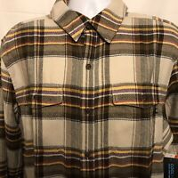 Marmot Mens Zephyr Cove Plaid Midweight Flannel LS Button Shirt Sz XL NWT $85