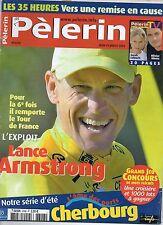 Pèlerin MAGAZINE N°6348 lance armstrong  2004
