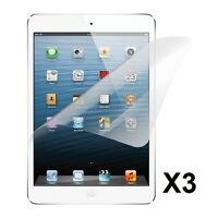 Ultra Thin Film Screen Protector CLEAR Cover for Apple iPad Mini 3 2 1 - 3 Pack