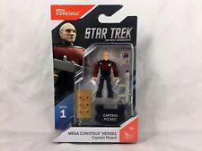 Mega Construx - Heroes - series 1 - Star Trek - Captain Picard - Fnd65 - New