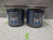Yankee Candle MEDITERRANEAN BREEZE Set OF 2 x 7 Oz Each 35 -55 Hrs Burn Time