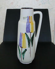 VASE Scheurich W G Pottery Modernist Mid 20 th Century Vintage Retro Fat Lava