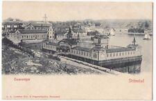 Sweden; Stromstard, Oscarsvagen  PPC, Unposted, UB, c 1900 - 1905