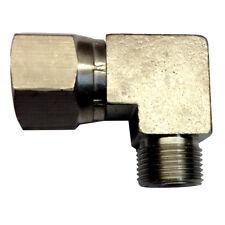 Uflex 90° 3/8 NI Plate Comp Fitting