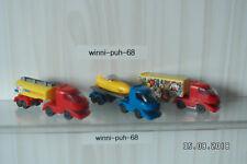 3 Trucks verschiedener Serien aus dem Ü - Ei ab 2000/2001 mit Bpz