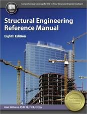 Structural Engineering Reference Manual by Alan Williams (2015, Hardcover, New E