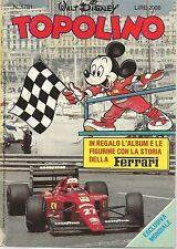 TOPOLINO N° 1781 - 14  GENNAIO 1990