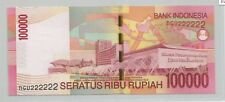 Indonesia 100000 Rupiah, 2011, NGV Solid 2 (UNC)
