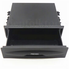 Universal Car Single Layer Din Dash Radio Installation Pocket Kit Storage Box