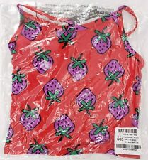 NWT HANNA ANDERSSON Sunblock Tankini Chasing Summer Tangy Red 100 4 NEW $22