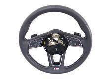 AUDI A4 S4 8W A5 Volante sportivo pelle multifunzione 8w0419091s Tiptronic
