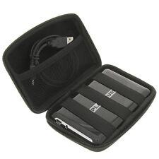Tasche f. externe Festplatte portable USB HDD Schutz Hülle Festplattentasche 2,5