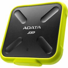 ADATA SD700 256 GB, Solid State Drive, gelb