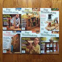 Fine Woodworking Magazine Lot 2010 Complete Year (6) Shaker Table Case Handplane