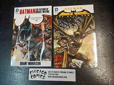 Batman Bruce Wayne The Return & Road Home TPB SC DC Comics 2011 USED VG