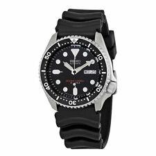 Seiko SKX007J1 42 mm Boîtier Acier Inoxydable Bracelet Caoutchouc Noir