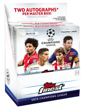2019-20 Topps Finest UEFA Champions League Fussball Soccer MASTER Box HOBBY