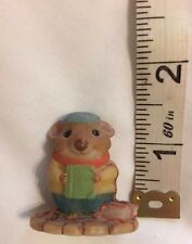 Hallmark Moustershire collectible miniature Malcolm Cramwell 1990 book mouse