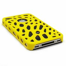 PERFORATED RUBBERISED CASE FOR IPHONE 4S / 4 RUBBERIZED NEW MESH NET HOLE COVER