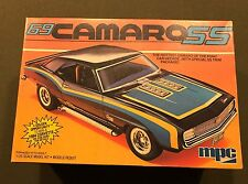 MPC 69 CAMARO SS KIT 1-0870 SCALE 1:25 OPEN/USED J&E HOBBY