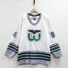 Vintage Brendan Shanahan 19 Hartford Whalers Starter Jersey Large 90s NHL Hockey