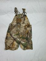 Carhartt Baby Boys Camouflage Hunting Bib Overalls Size 2T