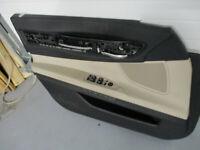 BMW 740i 750i 535i F01 F02 Front Left Interior Door Panel Tan