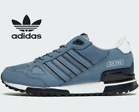 ⚫ Genuine Adidas Originals ZX 750 ® ( Men Size UK: 6 EUR 39.5 ) Raw Steel Blue
