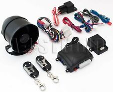 Omega K-9 Mundial Ss/La Car Alarm 1-Way Security System 2 Remote Transmitters
