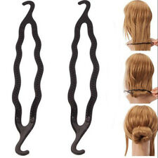 2Pcs Women's Hair Twist Styling Clip Stick Bun Maker Braid Tool Hair Accessories