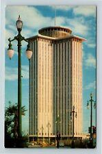 Louisiana View of International Trade Mart, New Orleans, LA, Postcard