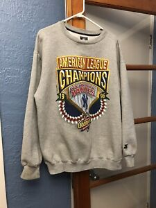VINTAGE 1996 NY YANKEES AMERICAN LEAGUE CHAMPIONS Sweatshirt XL Good V Condition