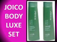 JOICO BODY LUXE VOLUMIZING SHAMPOO & CONDITIONER 10.1 OZ DUO FULLNESS & VOLUME