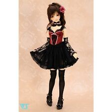 NEW Volks Super Dollfie HTD Kyoto 10 Limited Outfit Black Berry Bustier Set