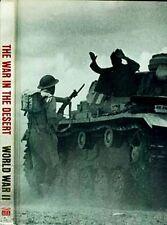 """Time Life World War II """"war in the Desert"""" Rommel Patton Montgomery Malta Panzer"""