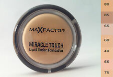 ( 100g / 94,78€ ) Max Factor Miracle Touch Liquid Illusion Foundation - 11,5g
