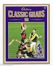 1999 Select Cadbury Classic Grabs (17) Sean WELLMAN Essendon