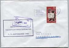 FFC 1961 Lufthansa PRIMO VOLO - Francoforte