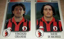 FIGURINA CALCIATORI PANINI 1997/98 FOGGIA 472 ALBUM 1998