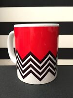 Twin Peaks Black Lodge Mug - Inspired by Japanese Graphic Design Coffee Cup