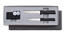 Rada Paring Knives plus Sharpener Gift Set
