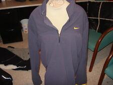 MEN'S NIKE LIVESTRONG FLEECE JACKET XL EXTRA LARGE QUARTER ZIP LANCE ARMSTRONG