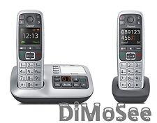 ►► Gigaset E560A m. AB inkl. 2. Mobilteil E560H Duo Großtastentelefon NEU ◄◄