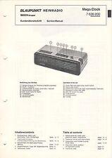 BLAUPUNKT - Mega Clock 7626200 - Kundendienstschrift Service Manual - B2936