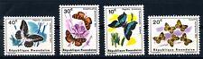 RWANDA - 1965 four BUTTERFLY / BUTTERFLIES - MNH