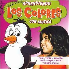 Various Artists : Aprendiendo Los Colores Con Musica CD